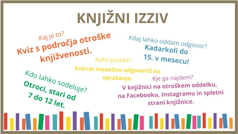 knjižni izziv