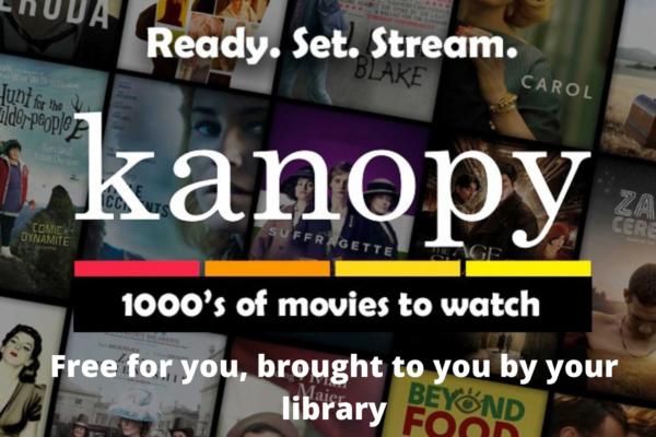 Kanopy – brezplačni ogledi filmov za člane Knjižnice Miklova hiša