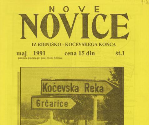 30 let časopisa Nove novice z ribniško-kočevskega konca